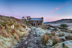 Frosty Morning on the Moor Stock Images