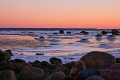 frosty morza Zdjęcie Stock