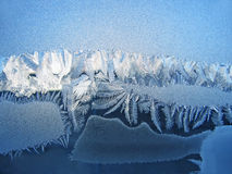 Frosty natural pattern Royalty Free Stock Photos