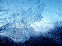 Frosty natural texture. Frosty natural background . Winter window Stock Photo