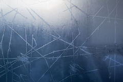Frosty Pane Royalty Free Stock Images