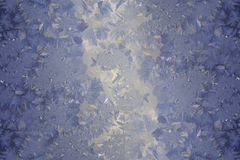 Frosty pattern Stock Photography