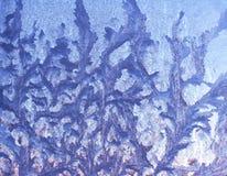 Frosty pattern stock image