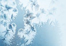 Frosty pattern stock photo