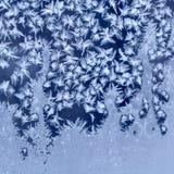 Frosty pattern royalty free stock photography