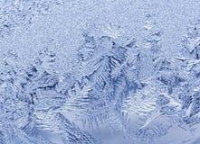 Frosty pattern Royalty Free Stock Photo