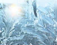 Frosty pattern Royalty Free Stock Image