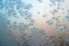 Frosty pattern background Royalty Free Stock Photography