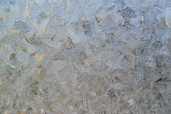 Frosty pattern Royalty Free Stock Images