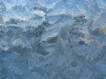 Frosty pattern on pane Stock Photography