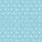 Frosty pattern at a window. Seamless frosty pattern from snowflakes at a window Stock Image