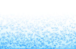 Frosty pattern on window Stock Images