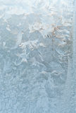 Frosty pattern on the window Stock Photography