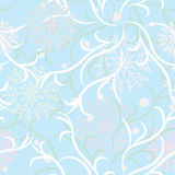 Frosty pattern. Winter seamless background. Frosty pattern Stock Image