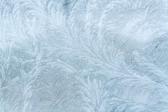 Frosty patterns Stock Photo