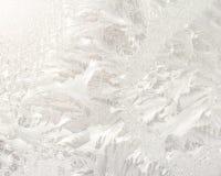 Frosty patterns Stock Image