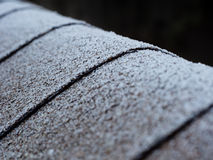 Frosty roof Stock Photos