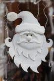 Frosty Santa Claus fotografia stock