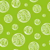 Frosty seamless pattern background with circles, curls and elements. Nice frosty seamless pattern background with circles, curls and elements Stock Photography