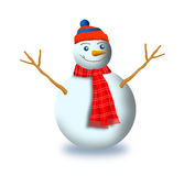Frosty the snowman Stock Image
