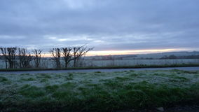 Frosty Start to the Day Stock Image