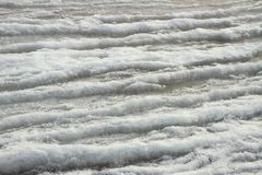 Frosty wave of sea. Royalty Free Stock Image