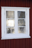 Frosty window Stock Photos