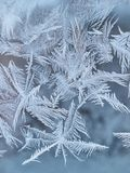 Frosty Window Glass Foto de Stock Royalty Free