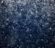 Frosty winter New Year's background Stock Photography