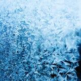 Frosty winter pattern Royalty Free Stock Image