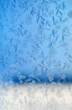 Frosty winter pattern Royalty Free Stock Images