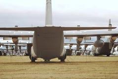 Frota aterrada Imagem de Stock