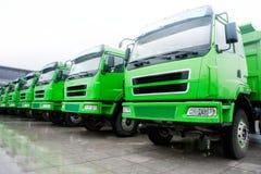 Frota de caminhões Imagens de Stock Royalty Free