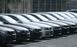 Frota dos carros Fotografia de Stock Royalty Free