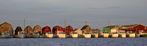 Frota pesqueira Imagens de Stock Royalty Free