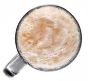 Froth dark beer in glass Royalty Free Stock Photography
