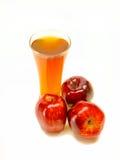 Frothy μηλίτης μήλων Στοκ Εικόνα