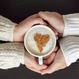 Share feelings together Stock Photography