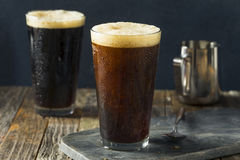 Frothy Nitro Cold Brew Coffee Royalty Free Stock Images
