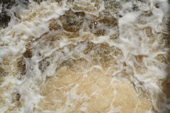 Frothy water Royalty Free Stock Photography