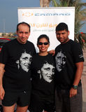frotté uae för lag för rävGeneral Motors skjorta t Royaltyfri Bild