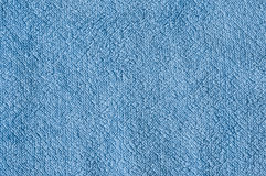 Frottee macro. Close up of light blue terrycloth Stock Images