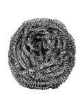 frottez les laines de fil d'acier Photographie stock libre de droits