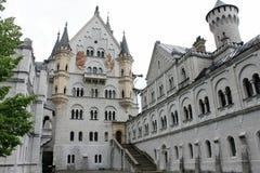 Froum του Castle Neuschwanstein το δικαστήριο Στοκ φωτογραφία με δικαίωμα ελεύθερης χρήσης