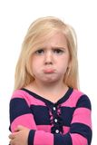 Frown Face Stock Photo