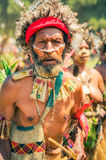 Frown in Papua New Guinea Stock Photos