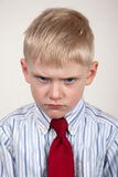 Frowning child Royalty Free Stock Image