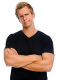 Frowning man Stock Photography