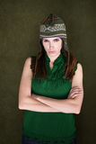 Frowning Woman Royalty Free Stock Images