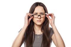 Frowning Woman Stock Photos